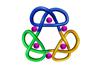 Triple trefoil knot