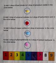Microscale chemical changes