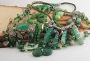 Various green stones