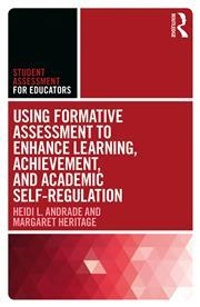 Book cover of 'using formative assessment to enhance learning, achievement, and academic self-regulation