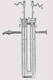 Fluorine apparatus