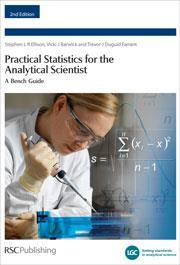 cover of Practical statistics for the analytical scientist: a bench guide