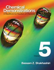 Cover of Chemical demonstrations: a handbook for teachers of chemistry (vol 5)