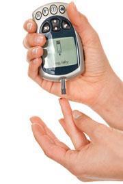 Testing blood glucose levels