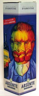Absinthe with Van Gogh packaging