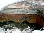 Inside a limekiln