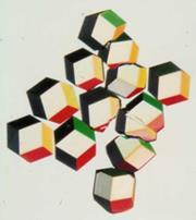Figure 6 - Crystals of neuraminidase 'heads' from bird flu virus