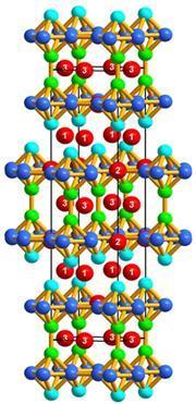 Bazinga molecule (BaZnGa)