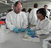 At a polymer study tour