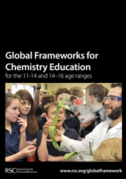 Global frameworks for chemistry education cover