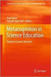 cover of Metacognition in science education: trends in current research