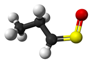 Syn propanethial-S-oxide structure