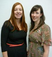 Linsey Robertson (left) and Angela McKeown (right)