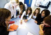 Learner-centred education - students working together