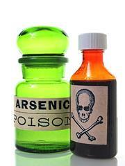 Arsenic and poison bottle