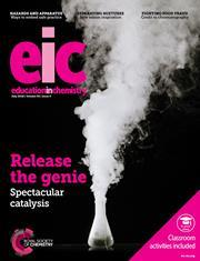Education in Chemistry magazine cover, July 2018