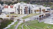 The Scottish Parliament buildings in Edinburgh