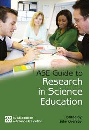 Cover of ASE guide to research in science education