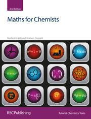 Cover of Maths for chemists (2nd edn)