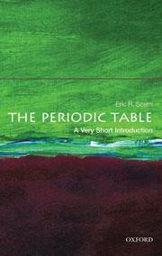 cover of The periodic table: a very short introduction