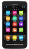 A touchscreen smartphone