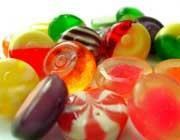Sweets of various sizes