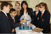 Sharmila Hanson from Bishop Wand Church of England School, winner of the 2011 overall 1st prize