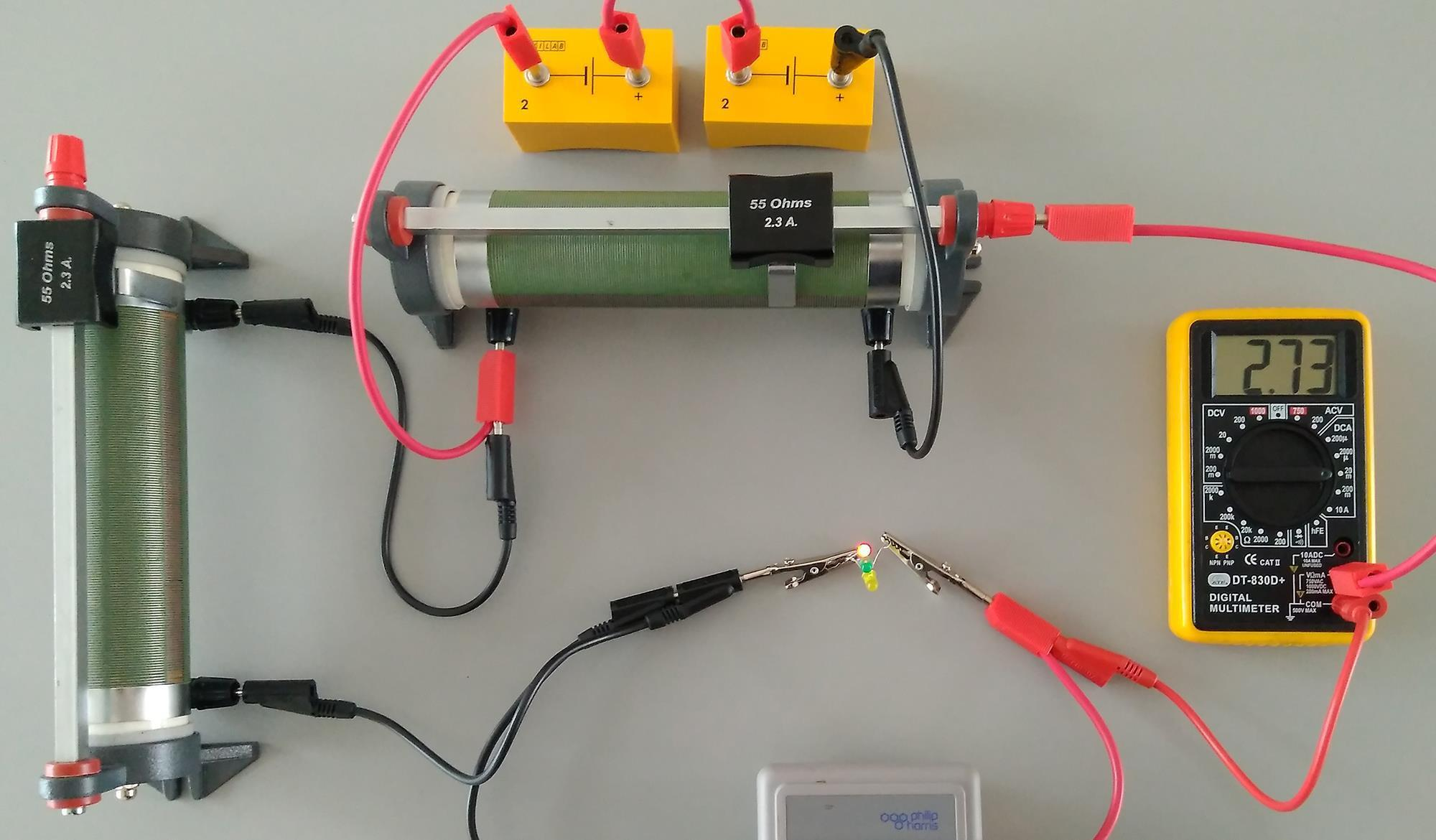 An Electrifying Lesson Exhibition Chemistry Education In Volt Meter Wiring Diagram On For Digital Ammeter