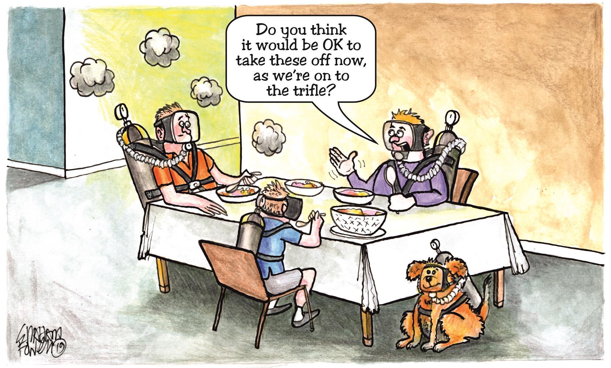 Sunday dinner – a health risk