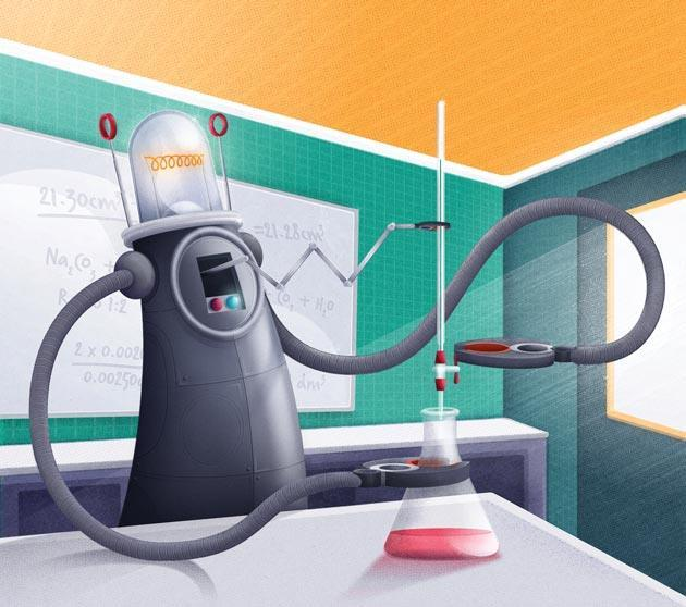 Evidence Linking Chemicals And Learning >> Robotic Chemistry Sets For The Classroom Feature Education In