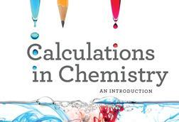 Calculations in chemistry, front cover