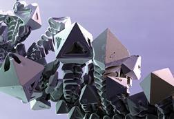 Palladium crystals