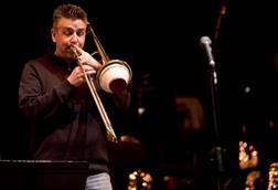 A trombone solo