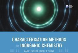 Cover image for the book 'characterisation methods in inorganic chemistry'