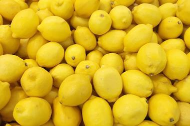 An image showing lots of lemons