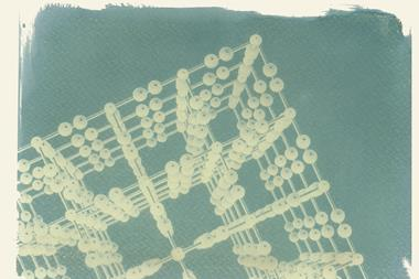 An image showing a cyanotype