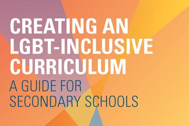 Creating an LGBT-inclusive curriculum