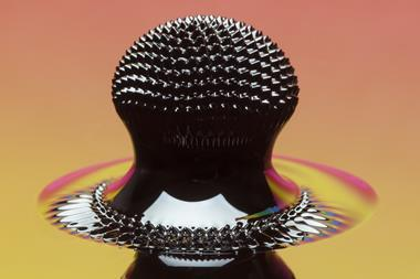 An unusual ferrofluid structure
