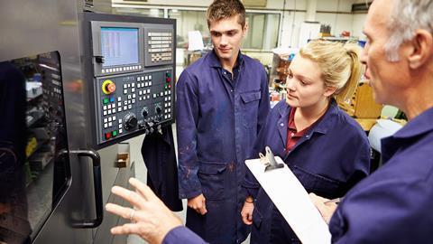 Teaching apprentices