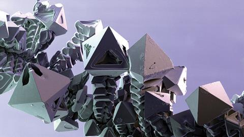 Palladium crystals