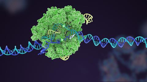 Illustration of Cas9 in action