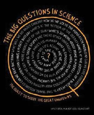 Book cover - The big questions in science