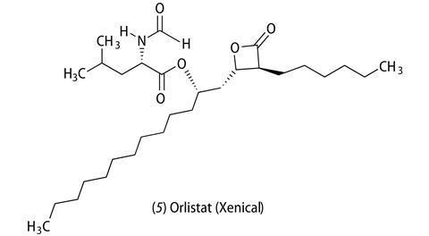 (5) orlistat (xenical)