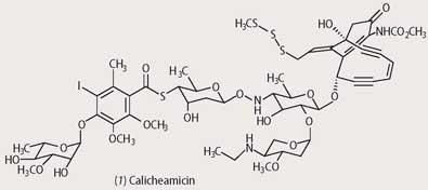 Structure of calicheamicin