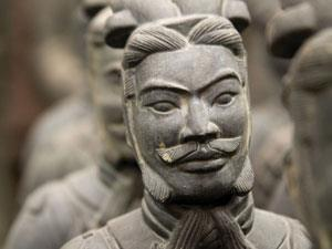 A Terracotta Warrior