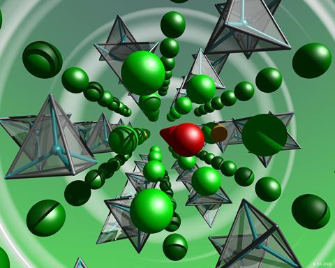 Interstitial oxide ions