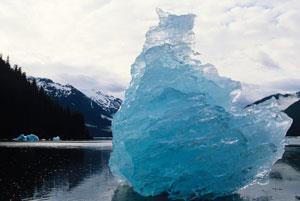 A large iceberg