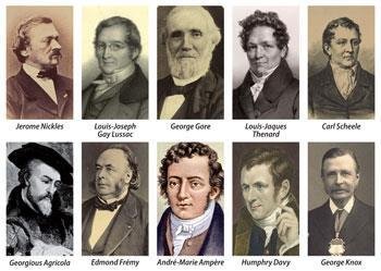 18th and 19th century scientists