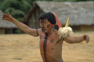 South American shaman - what's his spiritual tipple?