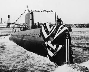 Photograph of the USS Nautilus